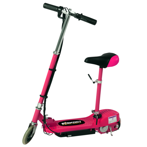 Electric Scooter With Seat >> Pink Electric Scooter With Removable Seat