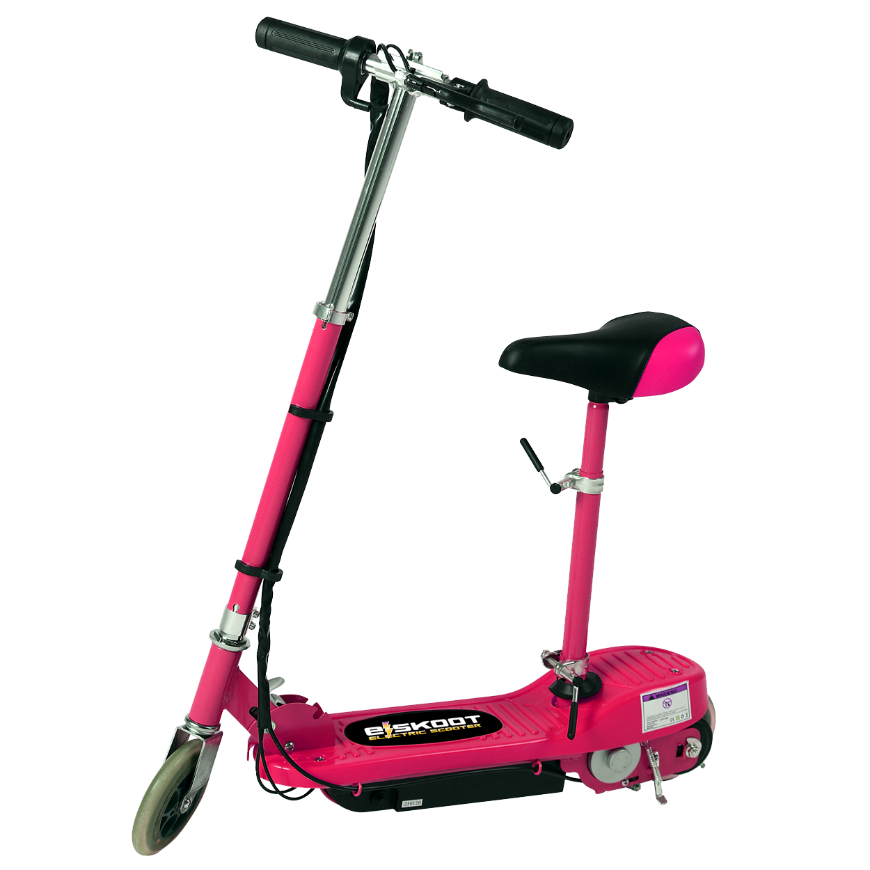 Pink Kids Electric Scooter With Seat Eskooter Free Uk