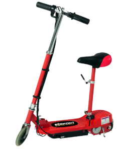 Red Electric Scooter