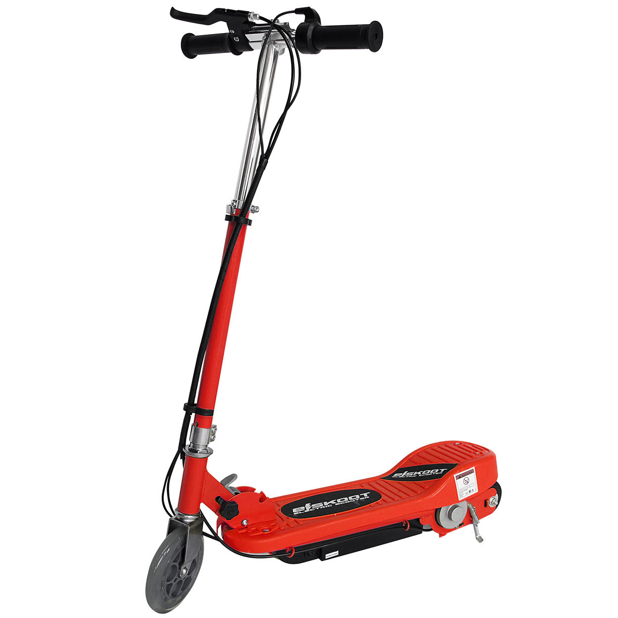 Red Electric Scooter By Eskooters Red Free Uk Delivery