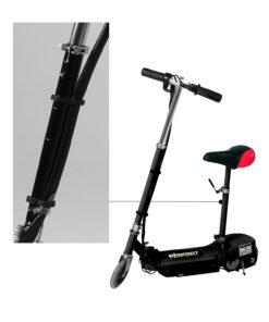 black seat pole