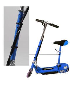 blue seat pole