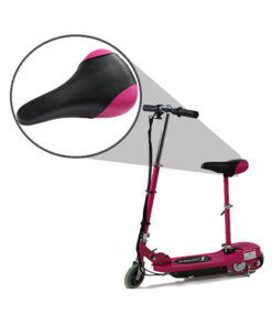 pink scooter seat